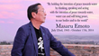 Legendary Water Researcher, Author and Emissary for Peace Dr. Masaru...