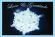 Love and Gratitude Water Crystal -Masaru Emoto