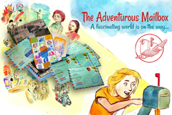 The Adventurer Package shown with characters from Series one