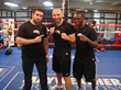 Ahmed Imamovic, Amer Abdallah and Jeff Mayweather