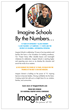 Imagine Schools 10th Anniversary Branding Campaign