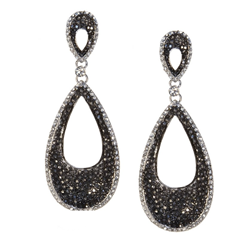 Noir Monochrome Evening Jewellery