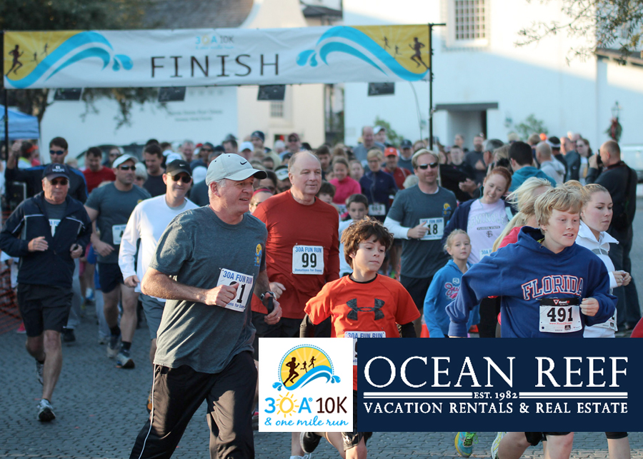 Ocean Reef Vacation Rentals & Real Estate Is Official Sponsor of 2014 30A 10K Race