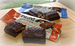 Sugar free and gluten free protein bars