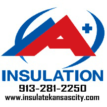 Logo for A+ Insulation in Kansas City