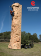 mobile climbing wall, portable climbing wall, mobile rock climbing wall