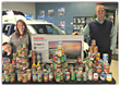 Thelen Auto Group Collects Food for the Bay Area Women's Center