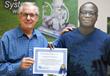 "Paul Camille N""Dri visiting Turf Feeding Systems in Houston,Texas for training"