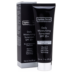 Ageless Derma Daily Moisturizing Sunscreen SPF 35+