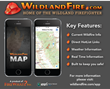 "Access Real-Time Wildfire Information with the ""Wildland Fire Map"" App"