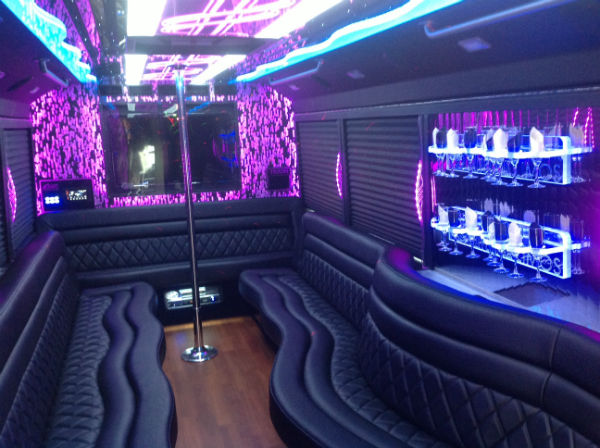 Orlando limo company announces new customized party bus for Custom party bus interiors