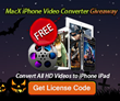 MacXDVD Halloween Giveaway of MacX iPhone Video Converter and iPhone 6