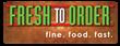 Fresh To Order Logo