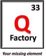 Q Factory 33 Logo