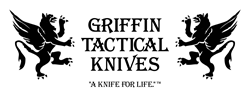 Griffin Tactical Knives website developed by Imaginovation