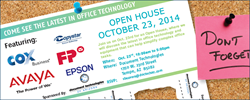 Document Technologies of Arizona October 2014 Technology Open House