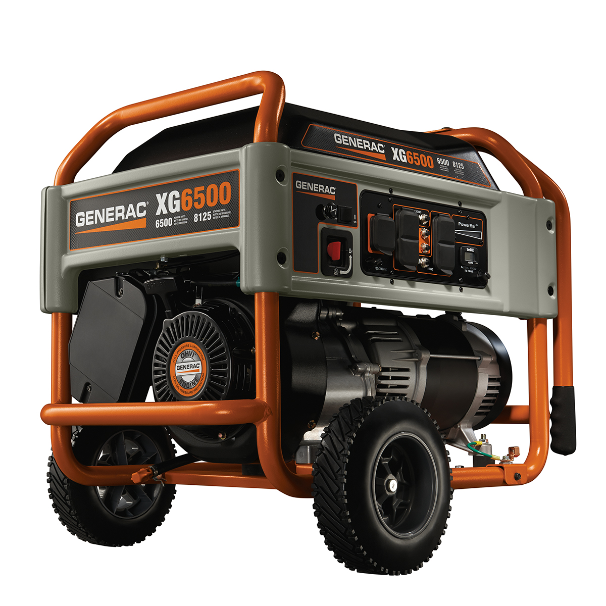 iX Series Portable Generator Generac LP Series Portable Generator ...