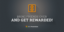 seo powersuite discount an referral program