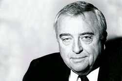 Robert J. Myers, Carnegie Council President, 1980-1995