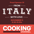 """""""From Italy With Love"""" Show Set to Air on Cooking Channel on November..."""
