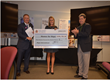 Dallas Home Builder Presents Check To Homes For Hope, An International...