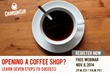 Crimson Cup Reveals Secrets to Coffee Shop Success in Nov. 6 Webinar