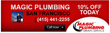 San Francisco Trenchless Sewer Replacement Plumbers at Magic Plumbing...