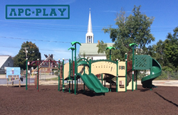 Groveton Elementary selects Palm Springs commercial playground structure from APCPLAY