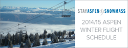 2014/15 Aspen Winter Flight Schedule
