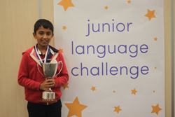 Yash Suribhatla, Junior Language Challenge Champion 2014