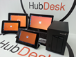 HubDesk interface spans iOS, Windows and Android Tablets, SmartPhones and Chromebooks