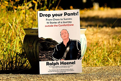 "motivational story book ""Drop your Pants!"" by Ralph Haenel"