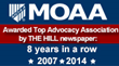 MOAA Selected as a Top Lobbying Association for Eighth Year