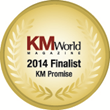Creative Virtual Named as Finalist in 2014 KMWorld Awards