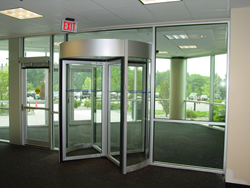 revolving door, security, security entrances, access control