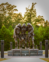 No Man Left Behind Monument, Camp Lejeune