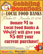 Wally's Party Factory Launches Gobbling Donations to Help Feed the...