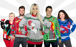 Ugly Christmas Sweaters from Stupid.com