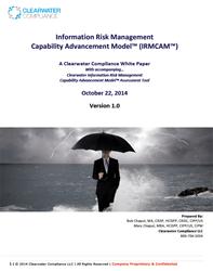 Information Risk Management Capability Advancement Model™ (IRMCAM™)