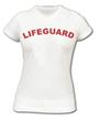 WOMEN'S FITTED LIFEGUARD T-SHIRT