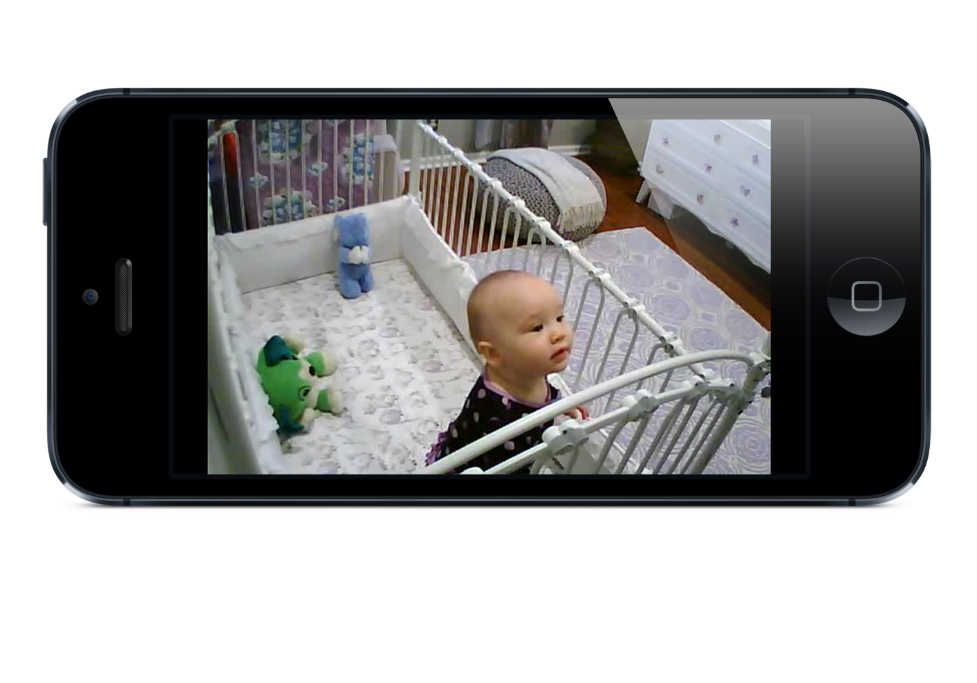 wifi baby app turns iphone and ipad into baby monitor nanny cam. Black Bedroom Furniture Sets. Home Design Ideas