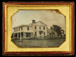 1/2 Plate Daguerreotype of House