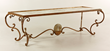 Eglomise Glass Top Table