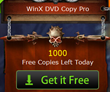 2014 Halloween Coupon Giveaway from WinXDVD - 1000 Copies of DVD Copy Software per Day