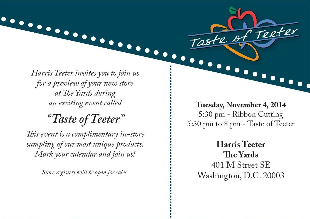 Grand Opening of Harris Teeter in Washington, D.C.