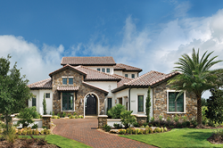ravenna model home professional images available