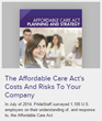 PrideStaff Releases Affordable Care Act Planning and Strategy...