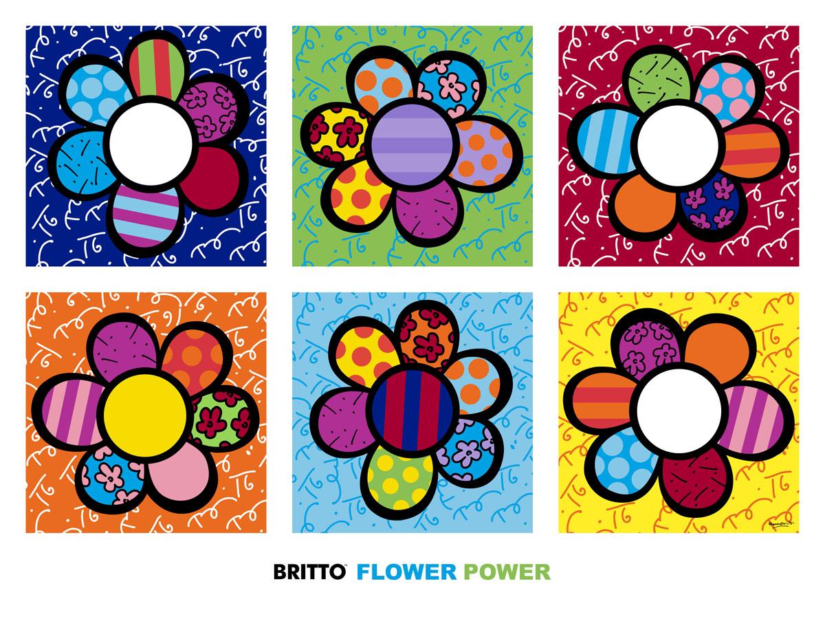 1000 images about romero britto on pinterest romero britto cats and google - Coloriage fleur britto ...