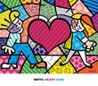 Romero Britto - Heart Kids