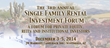 IMN Single Family Investment Forum Will Feature American Homeowner...